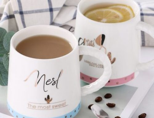 Creative nordic ins style ceramic cup
