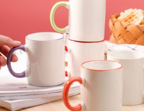 Simple household ceramic cup